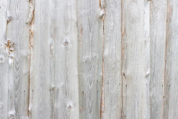 Priorità bassa strutturata dai bordi verticali di legno grigi.