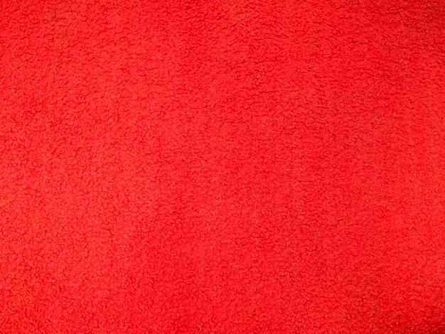 Panno rosso strutturato