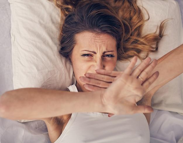 Questa donna non è dell'umore giusto dalla mattina
