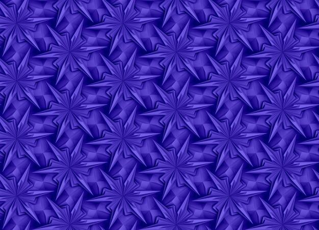 Texture tridimensionale di elementi geometrici complessi intrecciati tra loro