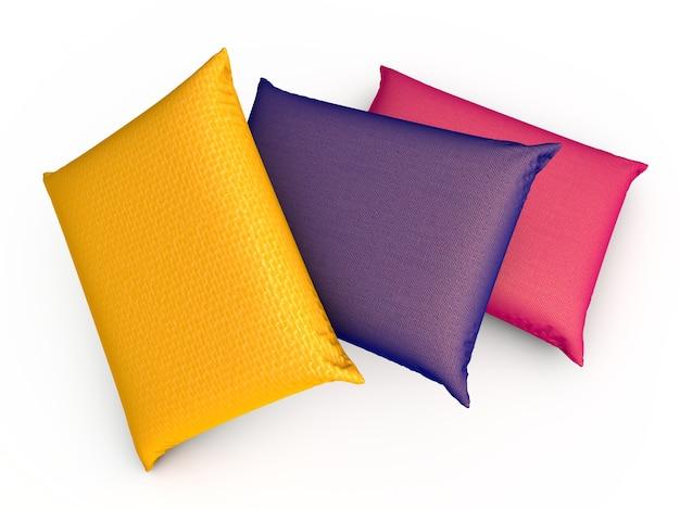 Tre cuscini