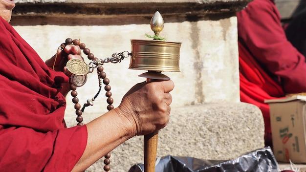 Ruota di preghiera tibetana