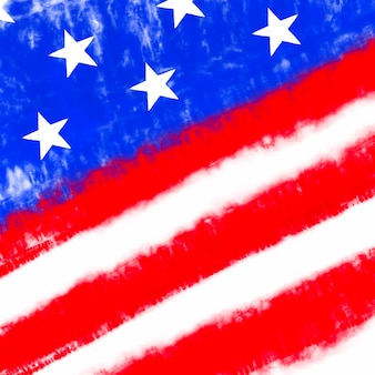 Tie dye bandiera americana sfondo colore rosso e blu trama psichedelica astratta patriottica usa pa