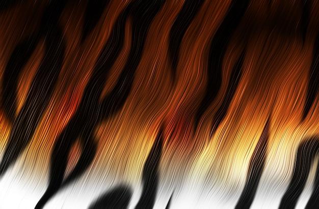 Primo piano della pelliccia di tigre come sfondo