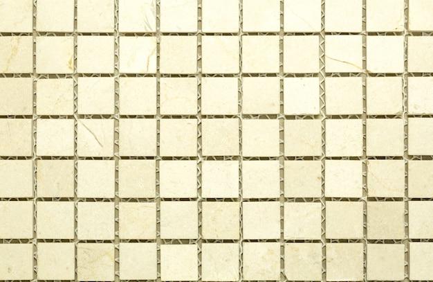 Struttura della parete delle mattonelle per interni