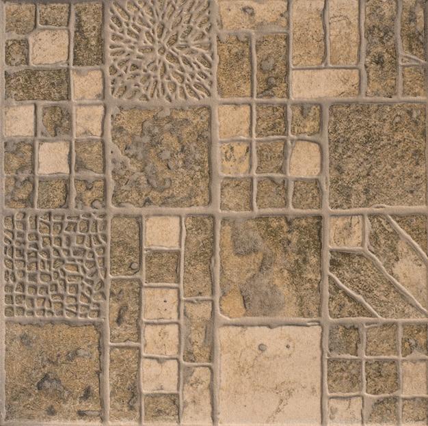 Piastrellato sfondo texture piastrelle mosaico forme geometriche astratte