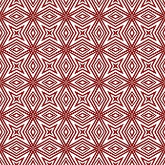 Reticolo dell'acquerello piastrellato. sfondo caleidoscopio simmetrico marrone rossiccio. acquerello piastrellato dipinto a mano senza soluzione di continuità. stampa divertente pronta per il tessuto, tessuto per costumi da bagno, carta da parati, involucro.