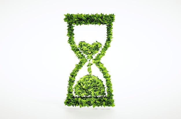 Il tempo sta finendo il concetto con il percorso di ritaglio incluso.