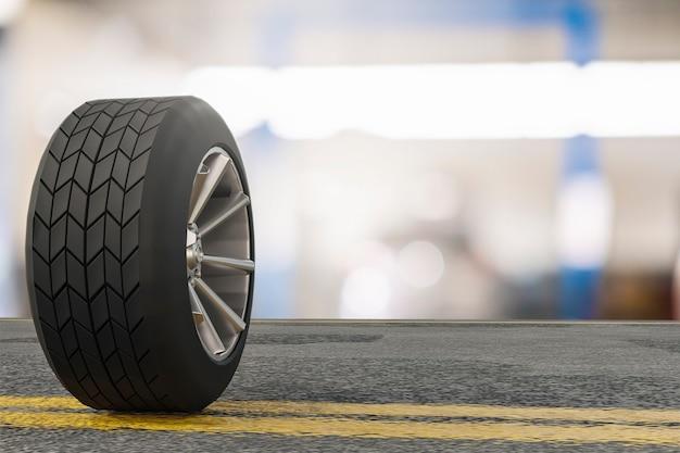 Pneumatico auto misurare la quantità pneumatici in gomma gonfiati auto. chiudere la macchina per tenere la mano manometro gonfiato per la misurazione della pressione dei pneumatici delle auto per l'immagine automobilistica automobilistica