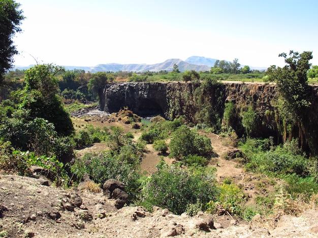Tis abbay - cascate del nilo azzurro in etiopia