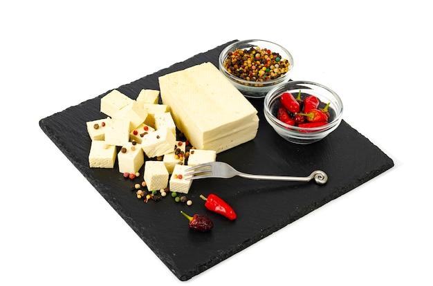 Tofu - prodotto a base di proteine del latte di soia ..