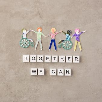 Insieme possiamo aiutare il concetto