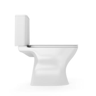 Tazza igienica isolata