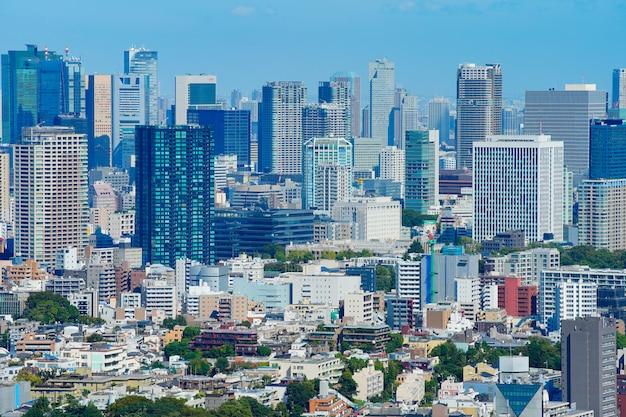 Paesaggio urbano di tokyo