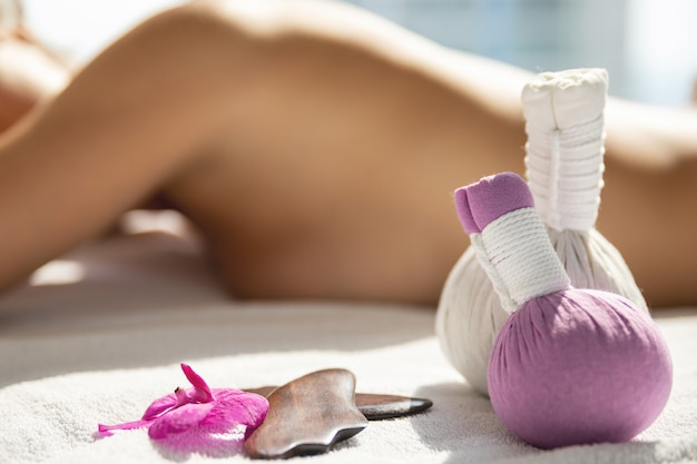 Strumenti per diversi tipi di massaggi asiatici