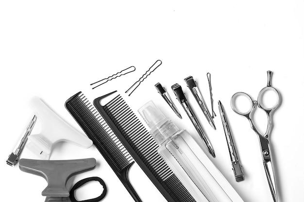 Strumenti isolati da parrucchiere