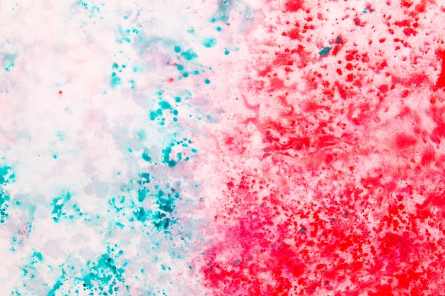 Vista dall'alto texture di sfondo vernice colorata astratta