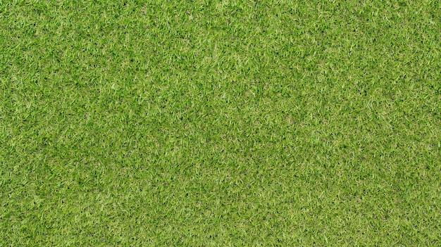 Vista dall'alto trama di erba verde artificiale per lo sfondo