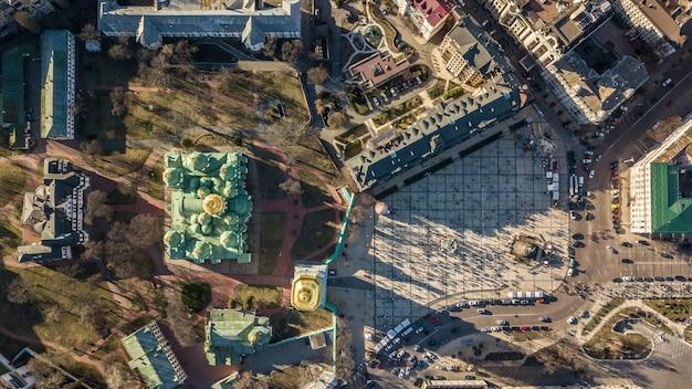 Vista dall'alto della cattedrale di s.