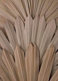 Vista dall'alto di forme di carta monocromatiche