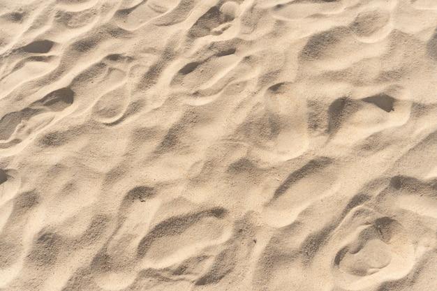 Trama di sabbia vista dall'alto