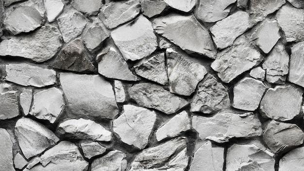 Vista dall'alto trama senza giunture di pietre Foto Premium