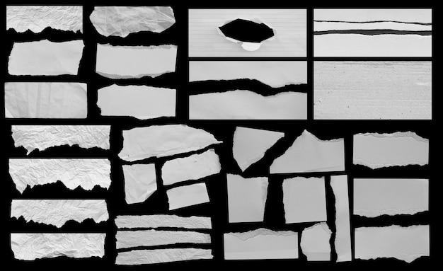 Sfondo texture carta strappata con copia spazio per il testo