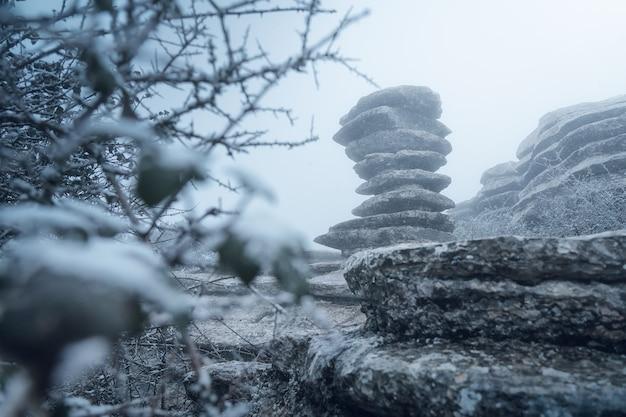 Il tornillo la roccia più famosa di torcal da antequera