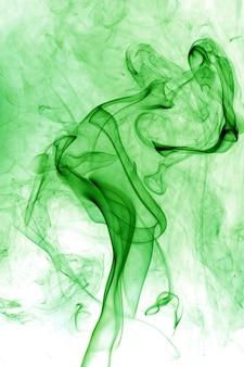 Fumi tossici su sfondo bianco
