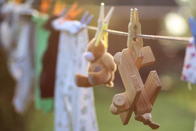 Molletta da bucato giocattolo