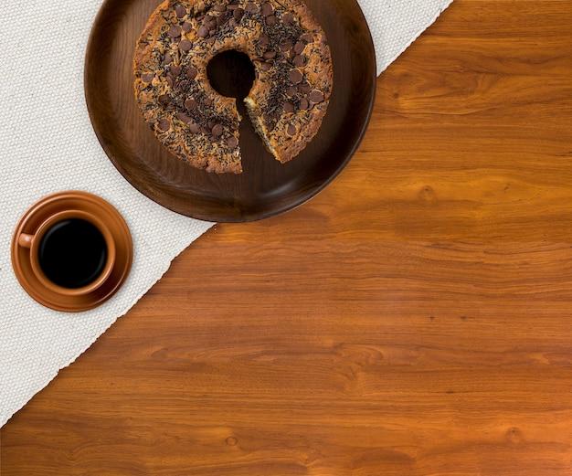 Dolce tradizionale brasiliano chiamato bolo formigueiro