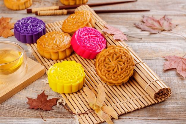 Mooncake cinesi tradizionali