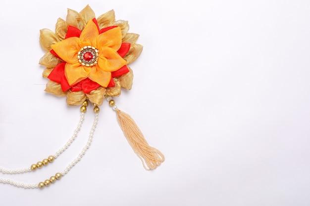 Ornamento tradizionale visto nelle famiglie indiane durante le occasioni festive