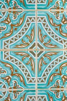 Piastrelle azulejo portoghesi tradizionali