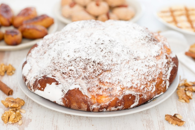 Pane portoghese tradizionale pao de deus