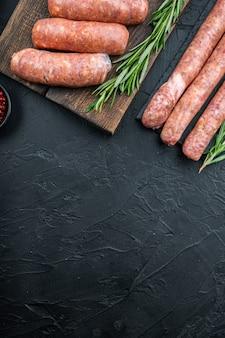 Salsicce tradizionali di manzo crudo