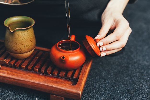 Cerimonia del tè tradizionale