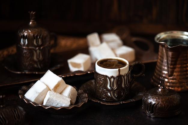 Delizia turca tradizionale su un piatto