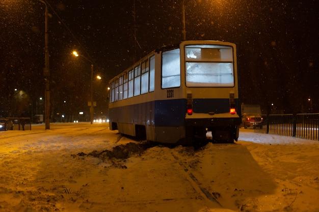 Il tram è uscito dai binari