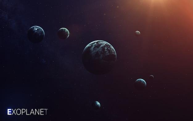 Esopianeti trappist-1e lontani dal sistema solare