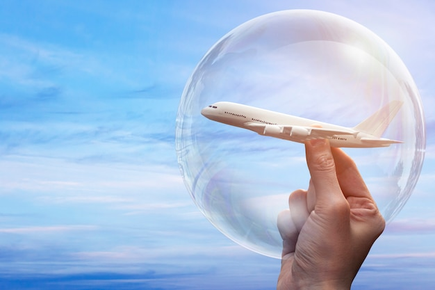 Concetto di bolla di viaggio