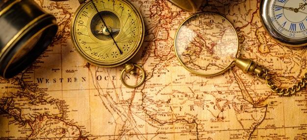 Navigazione geografica di viaggio