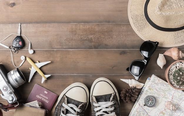 Piano di viaggio, accessori vacanza viaggio per viaggio,