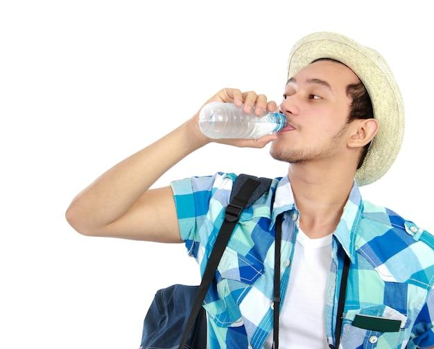 Acqua potabile del viaggiatore
