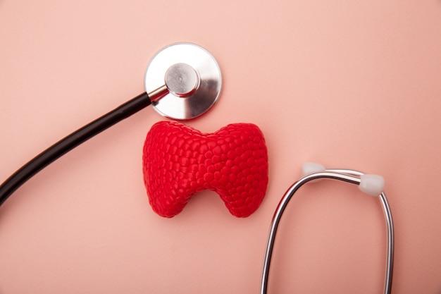 Trattamento e prevenzione della tiroide. organo anatomico