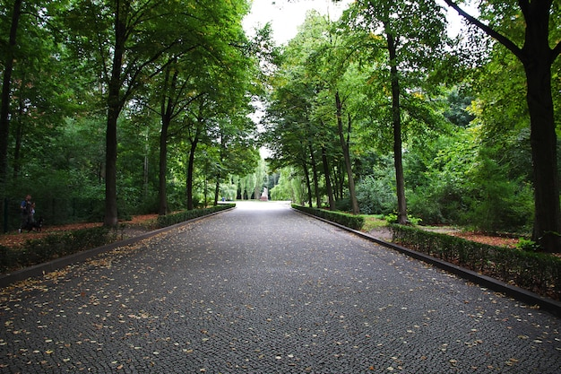 Parco di treptow a berlino, germania