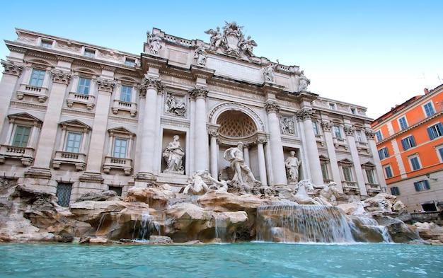 Fontana di trevi roma italia