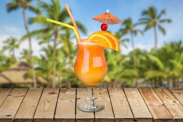 Cocktail tropicale