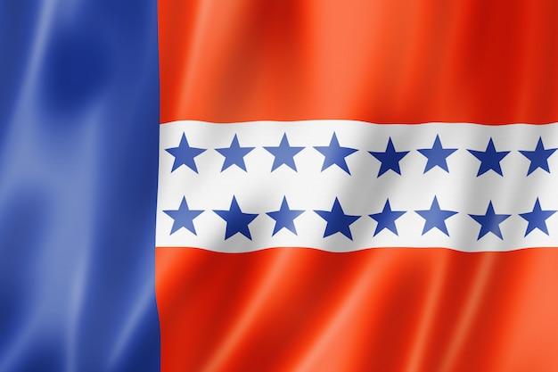 Bandiera delle isole tuamotu, polinesia francese