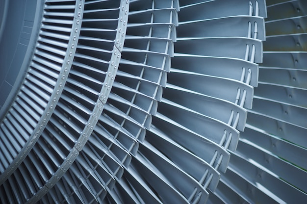 Aerei del motore a propulsione delle pale di turbina